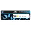 Картридж для принтера HP 980 D8J09A оригинальный, желтый, купить за 10 195руб.