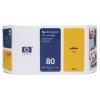 Картридж для принтера HP №80 C4873A оригинальный, желтый, купить за 10 660руб.