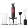 Блендер Hotpoint-Ariston HB 0603 DR0 черный/красный, купить за 4 110руб.