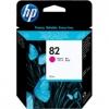 Картридж для принтера HP №82 CH567A,  пурпурный, купить за 3315руб.