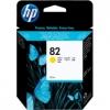 Картридж для принтера HP №82 CH568A, желтый, купить за 3375руб.