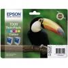 Картридж Epson T0094, Многоцветный, (2 шт), купить за 3 220руб.