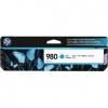 Картридж HP 980 D8J07A, голубой, купить за 6 255руб.
