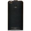 Чехол для смартфона SkinBox Flip slim T-S-XR3P-001, для Xiaomi Redmi 3 S / Pro, чёрный, купить за 260руб.