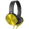 Наушники Sony MDR - XB450APYQ(Е) желтые, купить за 2 335руб.