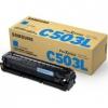 Картридж для принтера Samsung CLT-C503L/SEE, Голубой, купить за 6500руб.