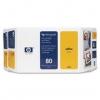 Картридж для принтера HP №80 C4848A оригинальный, желтый, купить за 17 855руб.