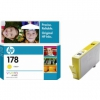 Картридж для принтера HP 178 CB320HE, желтый, купить за 1415руб.