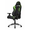 Игровое компьютерное кресло AKRacing AK-Octane-GR, зеленое, купить за 26 299руб.