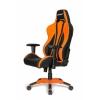 Игровое компьютерное кресло AKRacing Premium Plus AK-Plus-OR, черное/оранжевое, купить за 26 899руб.