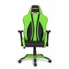 Игровое компьютерное кресло AKRacing Premium Plus AK-Plus-GN, черное/зеленое, купить за 26 899руб.