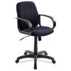 Кресло офисное Бюрократ CH-808-LOW (80-11) черное, купить за 3 990руб.