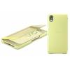 Чехол для смартфона Sony Touch Cover SCR50 для Xperia X Золотой Лайм, купить за 1 950руб.