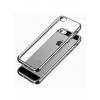 Чехол iphone SkinBox для Apple iPhone 5/5S черный, купить за 350руб.