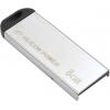 Usb-флешка Silicon Power Touch 830 (8 Gb, USB 2.0), серебристая, купить за 655руб.
