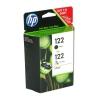 Картридж для принтера HP 122 черный / трехцветный, купить за 1955руб.