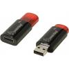 Usb-флешка SmartBuy Click 16GB, красно-черная, купить за 775руб.