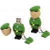 Usb-флешка Iconik RB-SOLDP-8Gb, черно-зелено-бежевая, купить за 925руб.
