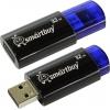 Usb-флешка SmartBuy Click 32GB, синяя с черным, купить за 835руб.