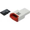 Карта памяти Transcend TS32GUSDHC10-P3 32Gb + USB-картридер, купить за 1 300руб.