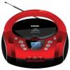 Магнитола BBK BX165BT, черно-красная, купить за 5 520руб.