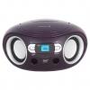 Магнитола BBK BS15BT, фиолетовая, купить за 3 095руб.