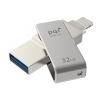 Usb-флешка PQI iConnect mini 32GB, серая, купить за 3 970руб.