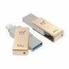 Usb-флешка PQI iConnect mini 64Gb, золотистая, купить за 6 725руб.