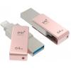 Usb-флешка PQI iConnect mini 64GB, розовая, купить за 6 660руб.