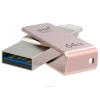 Usb-флешка PQI iConnect mini 64GB розовое золото, купить за 4 170руб.