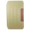 Чехол для планшета Book Cover для ASUS MeMO Pad 8 ME581CL с силиконовым основанием без логотипа (золотистый), купить за 270руб.