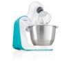 Кухонный комбайн Bosch MUM54D00, белый/бирюзовый, купить за 19 650руб.