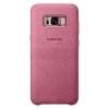 Чехол для смартфона Samsung для Galaxy S8+ Alcantara Cover (EF-XG955APEGRU) розовый, купить за 2 270руб.