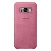 Чехол для смартфона Samsung для Galaxy S8 Alcantara Cover (EF-XG950APEGRU) розовый, купить за 2 270руб.