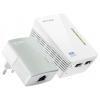 Адаптер wifi Комплект адаптеров Powerline с функцией усилителя беспроводного сигнала TP-LINK TL-WPA4220 KIT, купить за 3 380руб.