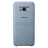 Чехол для смартфона Samsung для Galaxy S8+ Alcantara Cover (EF-XG955AMEGRU) мятный, купить за 2285руб.