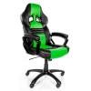 Игровое компьютерное кресло Arozzi Monza, Green, купить за 14 990руб.