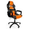 Игровое компьютерное кресло Arozzi Monza, оранжевое, купить за 14 990руб.