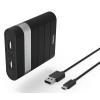Аксессуар для телефона Мобильный аккумулятор Hama Joy 10400, черный (10400 mAh), купить за 1 115руб.