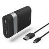 Аксессуар для телефона Мобильный аккумулятор Hama Joy 7800 (7800 mAh), черный, купить за 1 060руб.