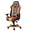 Игровое компьютерное кресло DXRacer King OH/KS06/NO, черно-оранжевое, купить за 33 990руб.