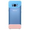 Чехол для смартфона Samsung для Galaxy S8 2Piece Cover (EF-MG950CLEGRU) голубой-персиковый, купить за 1095руб.