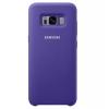 Чехол для смартфона Samsung для Galaxy S8 Silicone Cover (EF-PG950TVEGRU) фиолетовый, купить за 1335руб.