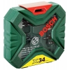 Набор сверл Bosch X-Line Classic, биты и свёрла + кейс, 34 предмета [2607010608], купить за 825руб.
