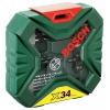 Bosch X-Line Classic, ���� � ����� + ����, 34 �������� [2607010608], ������ �� 1 145���.