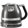 Чайник электрический KitchenAid Artisan 5KEK1522EMS, серебряный медальон, купить за 18 380руб.