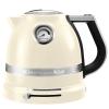 Чайник электрический KitchenAid Artisan 5KEK1522EAC, кремовый, купить за 18 380руб.