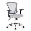 Компьютерное кресло COLLEGE H-8369F (ткань, сетчатый акрил, серое), купить за 6 790руб.