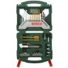 Набор инструментов BOSCH X-Line 50 (2607019327), биты и свёрла, 50 предметов, купить за 2 300руб.