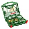 Набор инструментов Bosch X-Line 70 Ti (2607019329), биты и свёрла, 70 предметов, купить за 2 630руб.